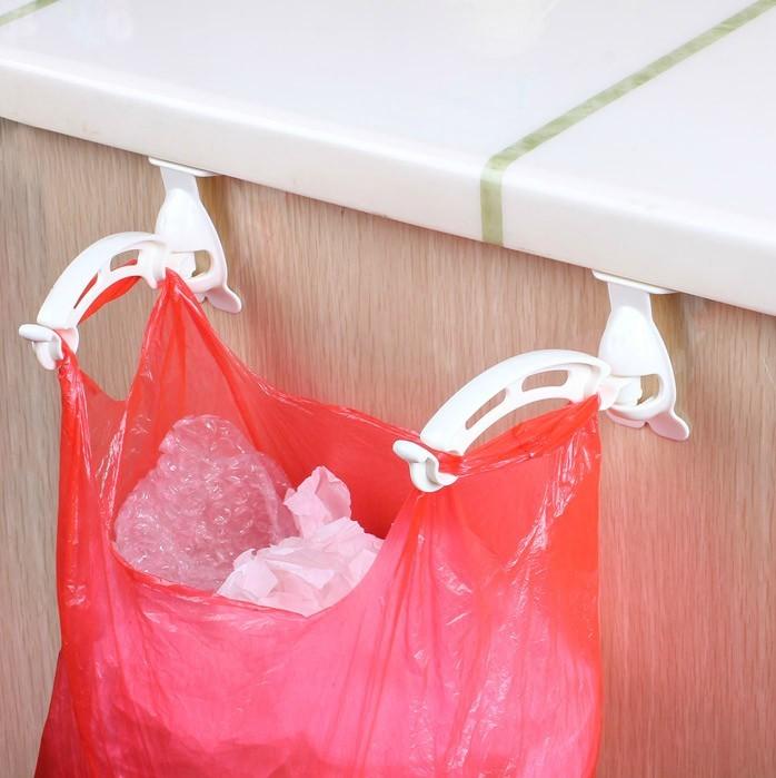 慳位慳空間 可收納 掛勾式垃圾袋架