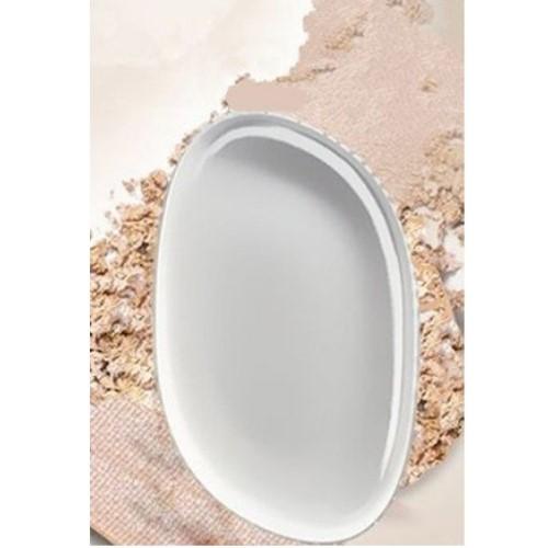 上妝更服貼 透明色矽膠粉撲 (1入)