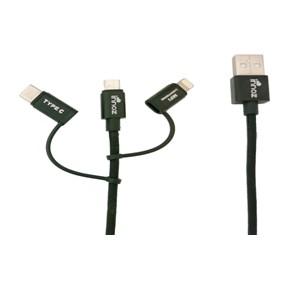 Innoz InnoLink 3-in-1 CABLE (1m) 數據/充電線