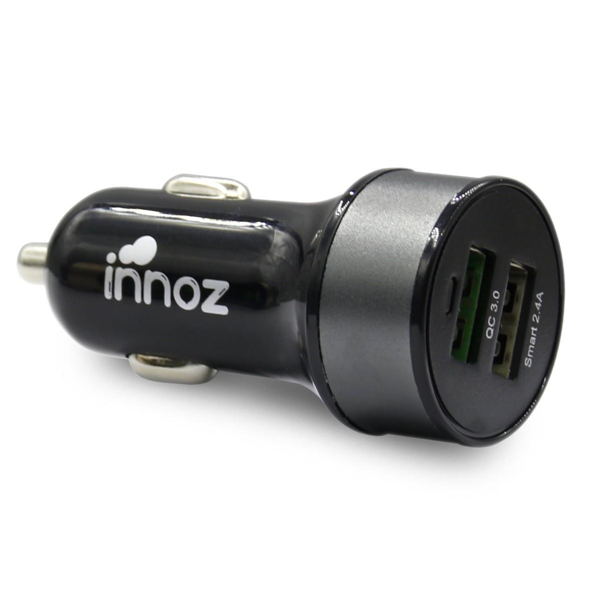 Innoz XQ2 2 Port QC3.0 車用充電器