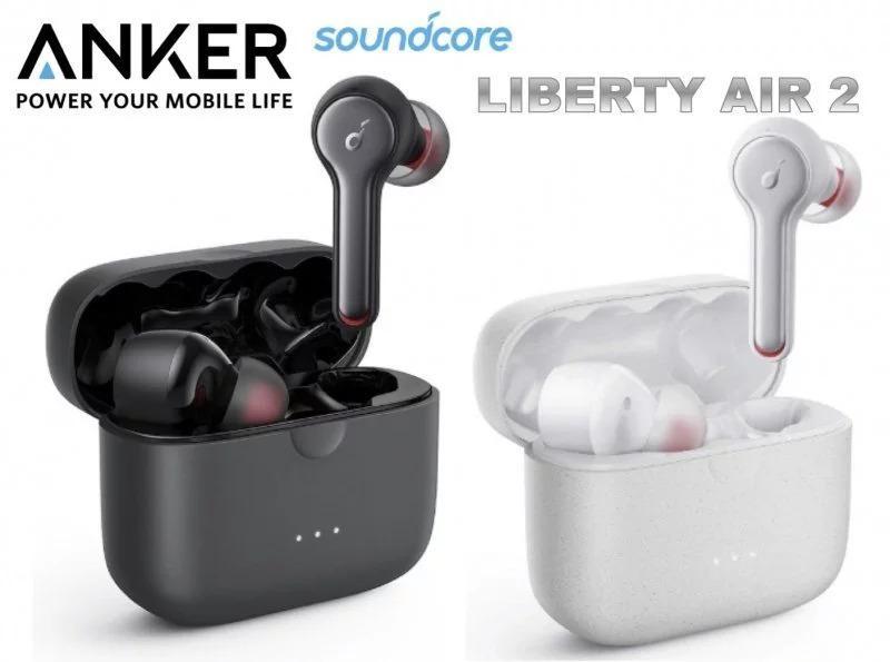 SOUNDCORE BY ANKER Liberty Air 2Truly-WirelessEarphone 鑽石振膜 真無線藍芽耳機