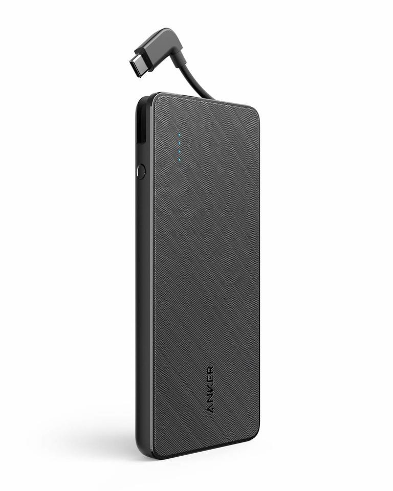 ANKER PowerCore+10000 18W PowerDelivery Power Bank(With Build-in Type-CCable) 行動電源 (內置 Type-C 線)