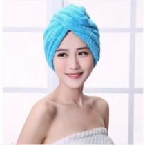 速乾 強力吸水 乾髮帽 (藍色)
