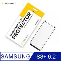 犀牛盾9H 3D滿版玻璃保護貼 -Samsung S8 Plus 黑色