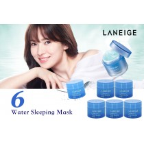 Laneige 水潤睡眠面膜 Water Sleeping Mask 15ml x 6ea