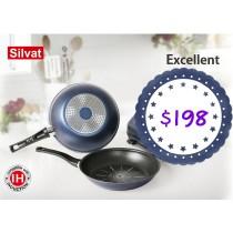 [Silvat] Excellent 28cm鑽石不黏平底煎鍋 Excellent 28cm frypan