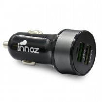 Innoz XQ2 2 Port QC3.0 車用充電器