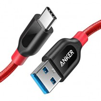 Anker Powerline+ USB-C to USB3.0 3ft/6ft (0.9M/1.8M) cable 數據線 (紅色/灰色)