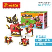 ProsKit 寶工科學玩具 GE-891 4合1變形蟲 (8+)